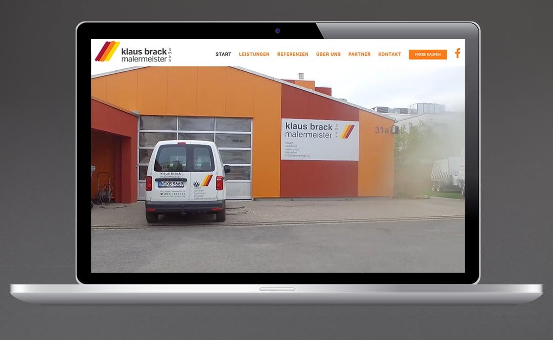 Handwerk Website Maler