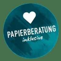 Papierberatung möglich