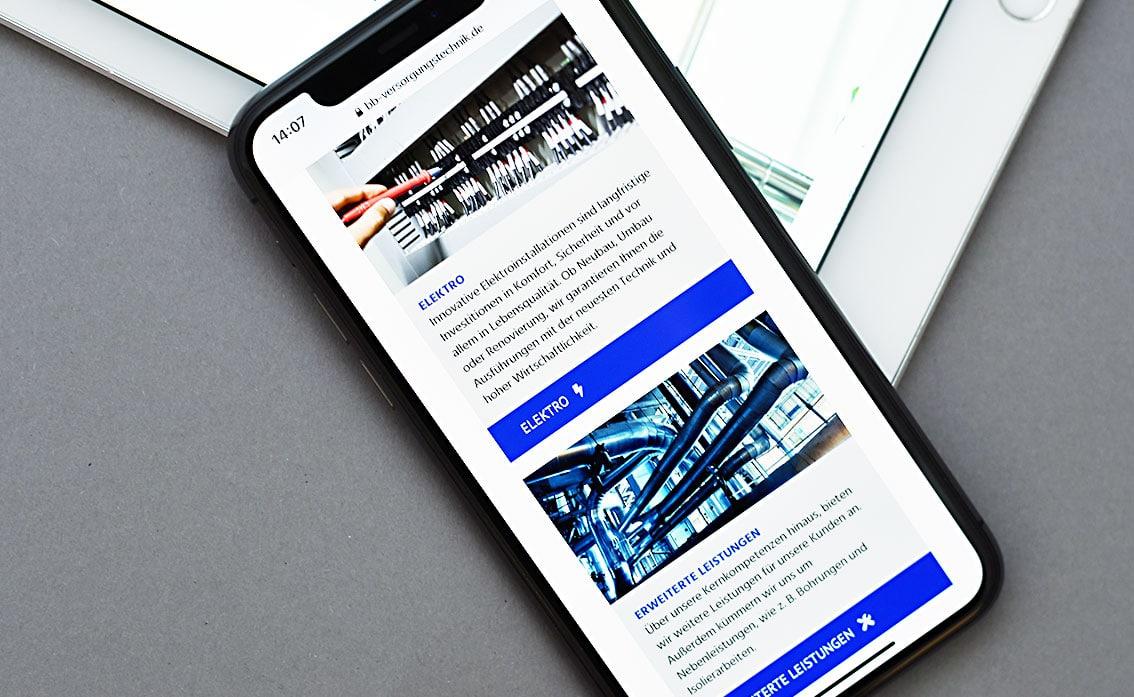 Handwerker Homepage