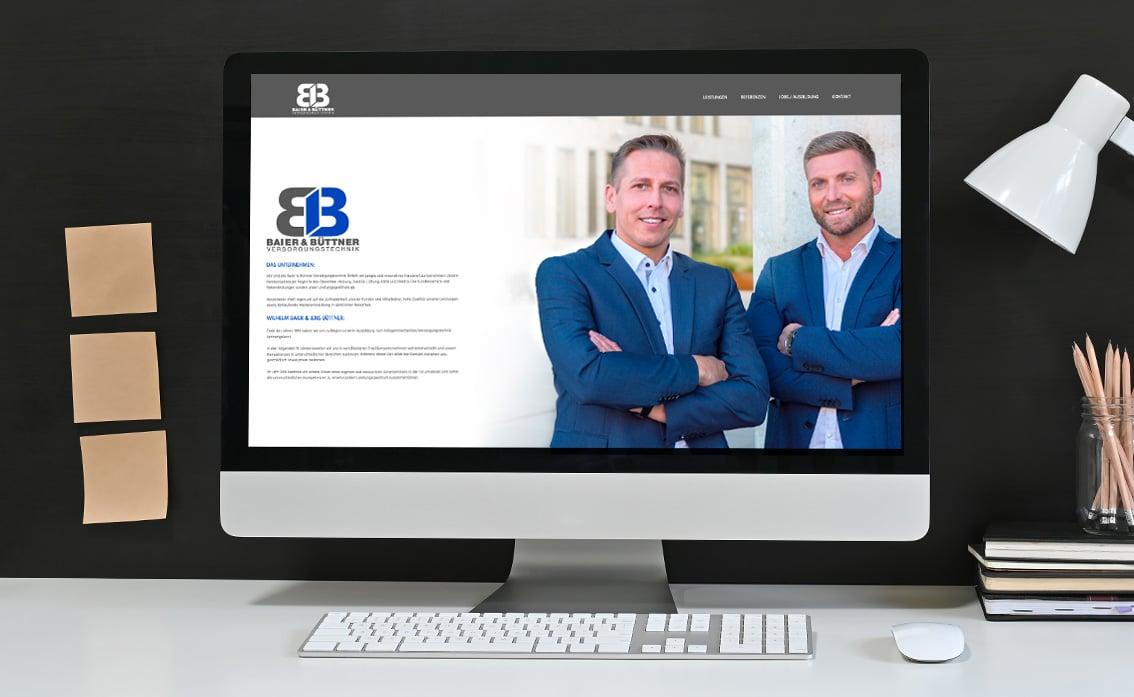 Firmenportrait online Homepage
