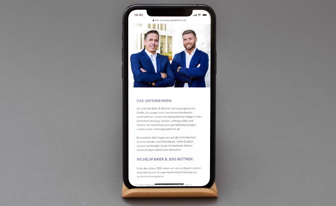 Handwerk Design Website