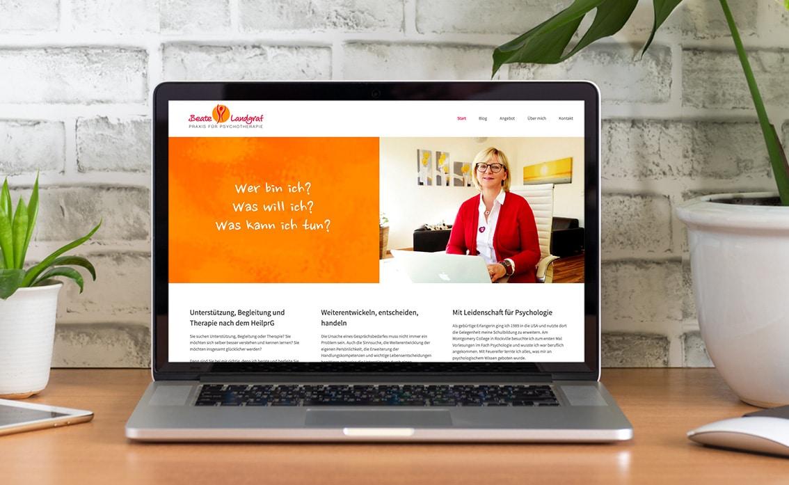 Homepage WordPress Nürnberg
