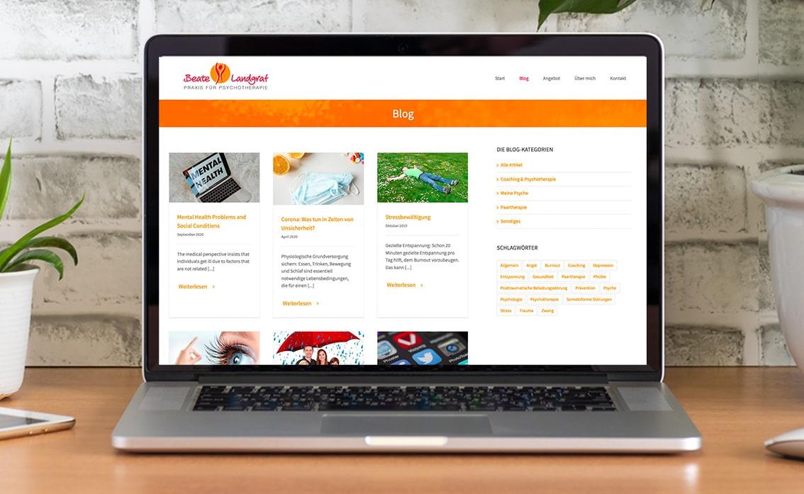 Blog Design Nürnberg