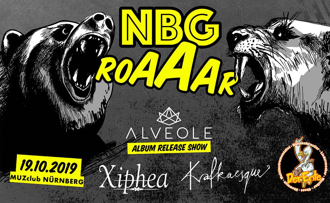 NBG Roaaar Veranstaltungs Design