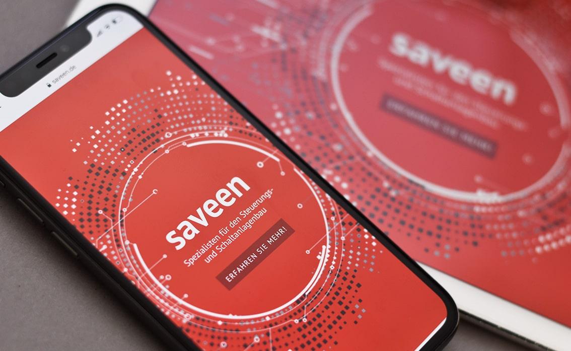 iPhone pro design handy website